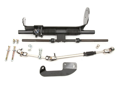 1982-95 Chevy S10/ Sonoma Rack & Pinion kit, Black