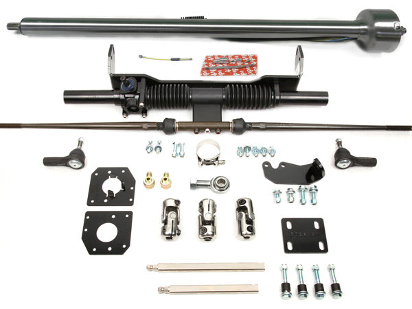 1958-62 Corvette Manual Rack & Pinion Kit w/ Column