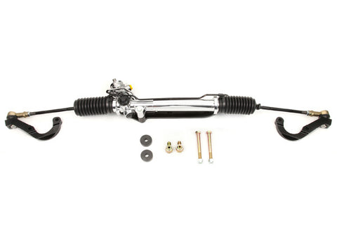 1967-69 Camaro/1968-74 Nova Power Rack & Pinion Kit, Chrome