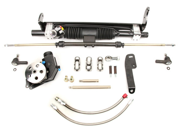 1968-72 GM A-Body Small Block Long Water Power Rack and Pinion Kit
