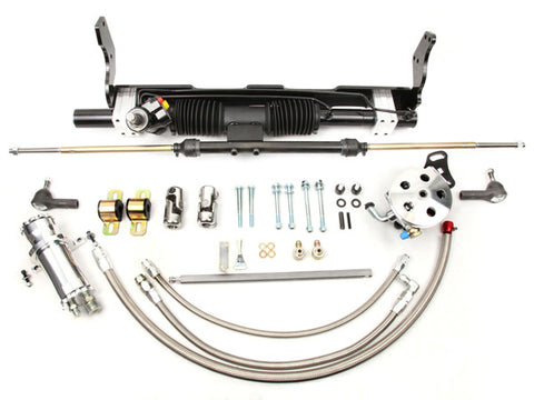 1958-64 Impala/Bel Air Big Block Short Water Rack and Pinion Kit