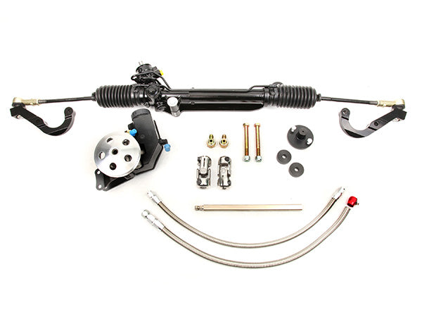 1967-69 Camaro Small Block Long Water Pump Power R&P Super Kit