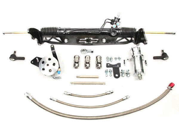 1960-66 Chevy C10 w/drums Power Rack & Pinion Kit