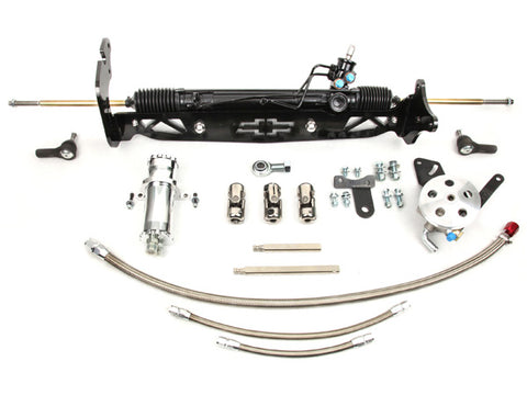 1967-70 Chevy C10 w/drums Power Rack & Pinion Kit