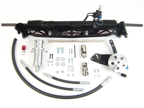 1960-66 Chevy C10 w/discs Power Rack & Pinion Kit