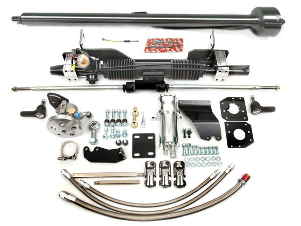 1958-62 Corvette Power Rack & Pinion Kit w/ Column