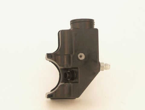 Clip-on Steering Plastic Pump Reservior w/ #6 AN Fitting