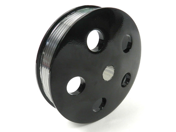 GEN II /TC PS Pump Serpentine Pulley (Black Powder Coated)