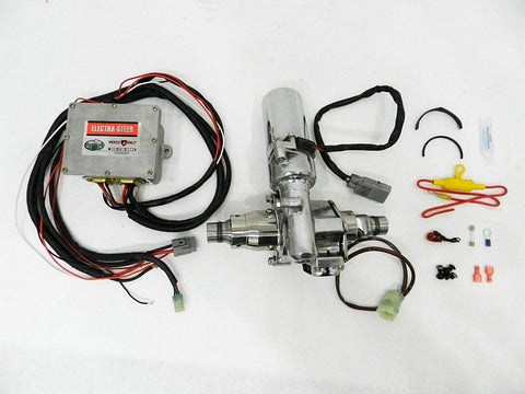 "Polished 360w Electric Power Steering kit for 2"" Columns"