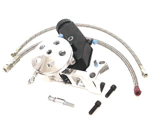 Gen II/TC Big Block Short Water Pump Kit w/Clip-on Reservoir (Polished)