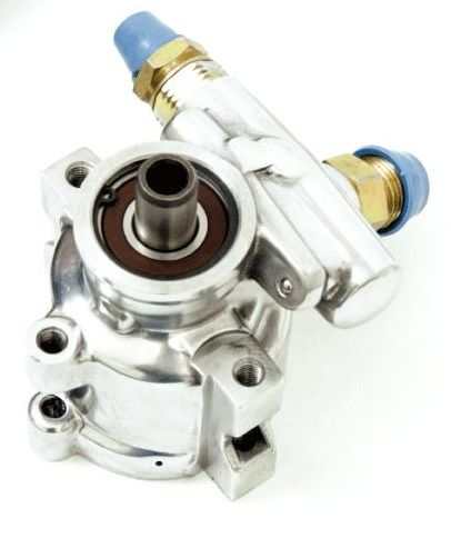 Gen II/TC Hi-Flow Pump; -6 AN Pressure & #10 AN Return (Polished)