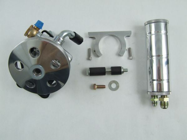 Chevelle Big Block Long Water Pump Kit w/Remote Resevoir (Polished)