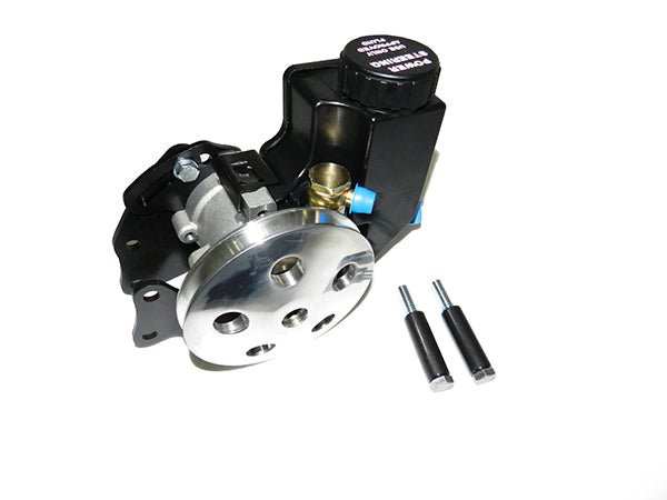 Chevy Small Block Clip-on Reservoir Short Water Pump Kit (Low Mount)