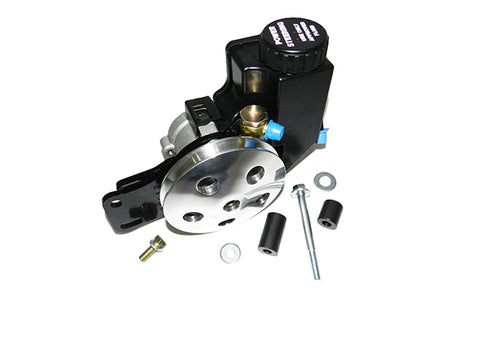 Chevy Small Block Clip-on Reservoir Short Water Pump Kit (High Mount)