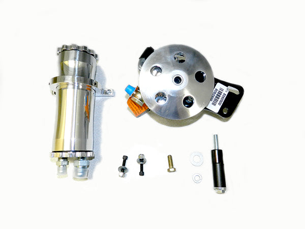 Chevy II Low Flow SB Remote Reservoir Short Water Pump Kit