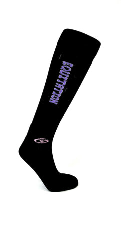 Equitation Lilac - Black