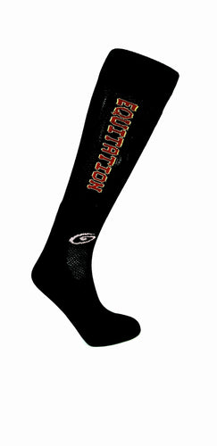 Equitation Red - Black