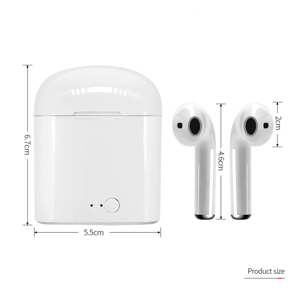 Bluetooth Airpods Wireless Earphones with Charging Case