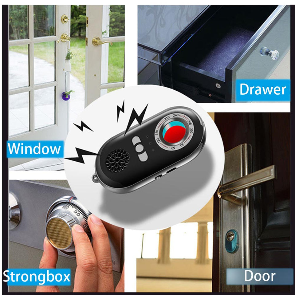 Multi Functional Infrared Hidden Camera Detector