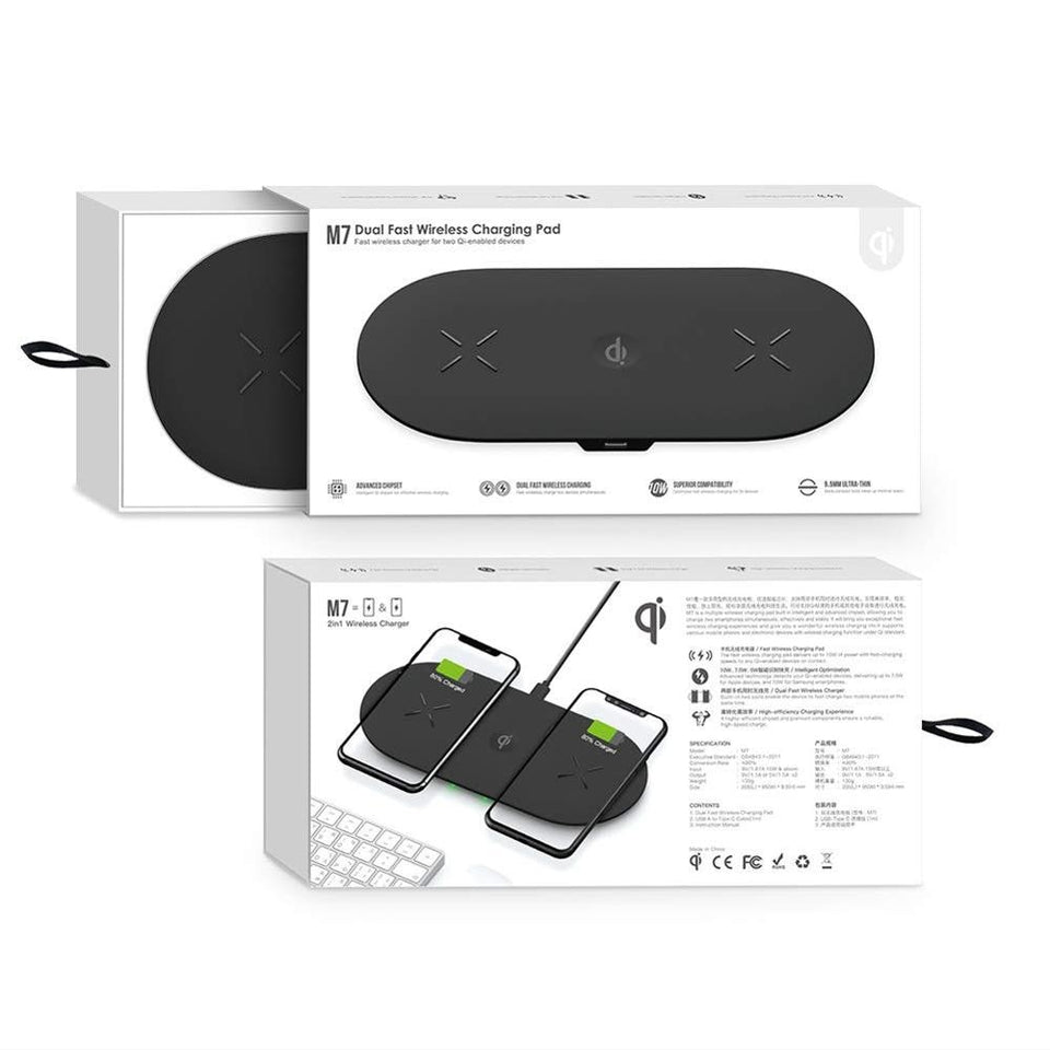 3 in 1 18W Fast Wireless Charging Pad