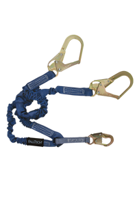 "4.5"" to 6' ElasTech Energy Absorbing Lanyard"