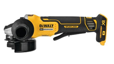 DCG413B 20V MAX* XR® 4.5 IN. PADDLE SWITCH SMALL ANGLE GRINDER WITH KICKBACK BRAKE (TOOL ONLY)