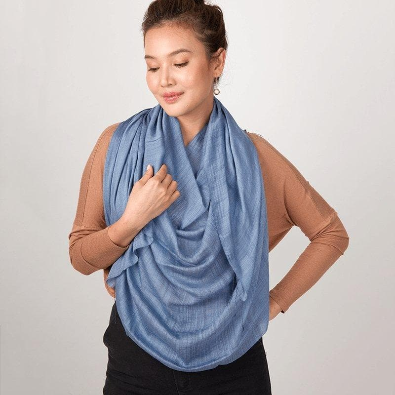 Breeze - Silky Smooth Evening Shawl - Marquet Fair Trade
