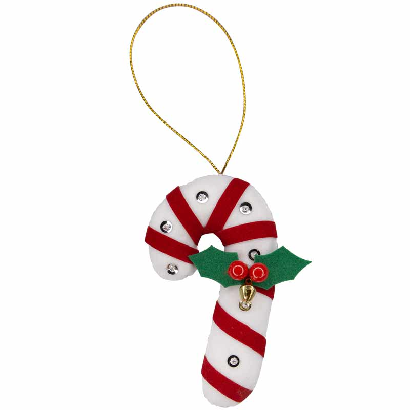 Candy Cane Ornament - Marquet Fair Trade