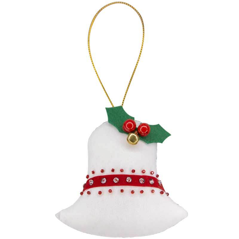 Christmas Bell Ornament - Marquet Fair Trade