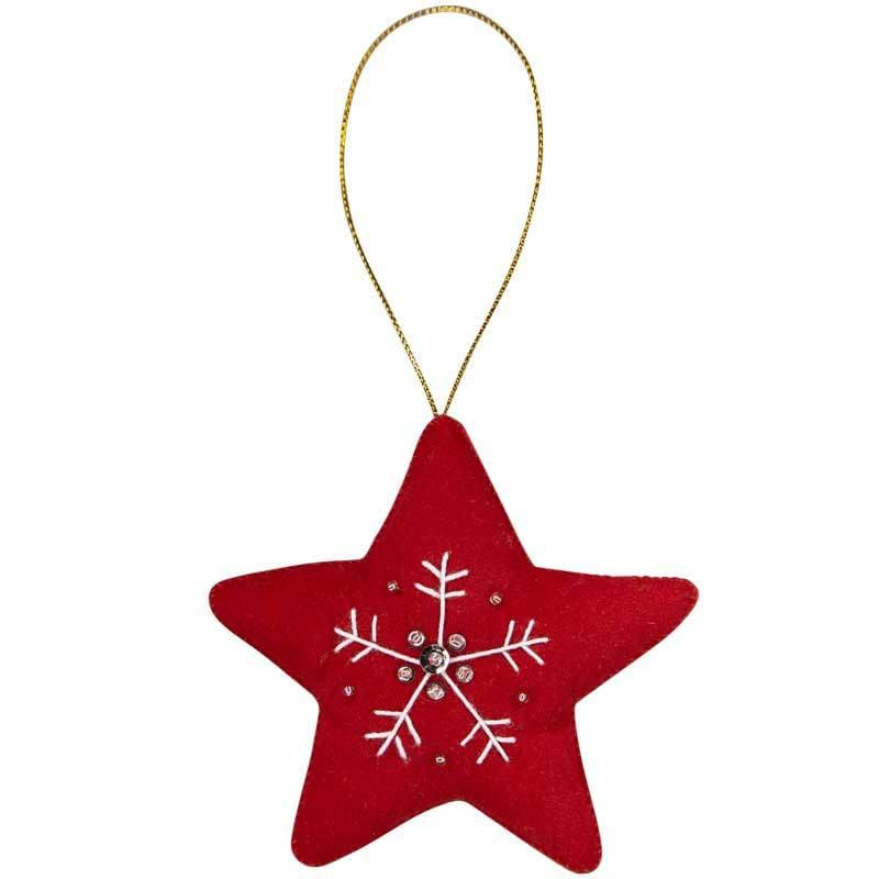 Christmas Star Ornament - Marquet Fair Trade