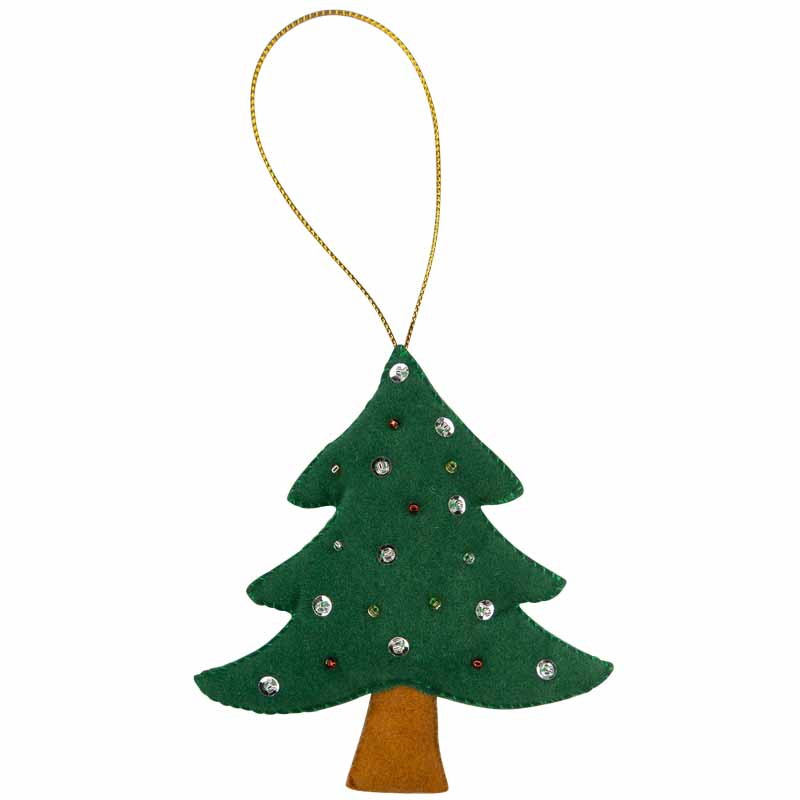 Christmas Tree Ornament - Marquet Fair Trade