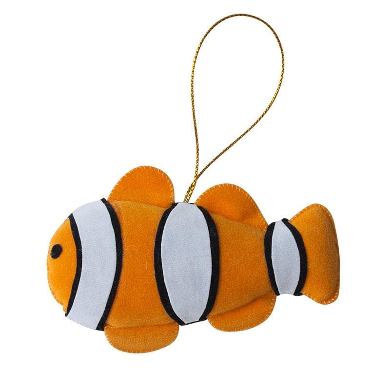 Clownfish Ornament - Marquet Fair Trade
