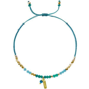 Load image into Gallery viewer, Erin - Sliding Knot Bracelet with Brass Charm - Marquet Fair Trade