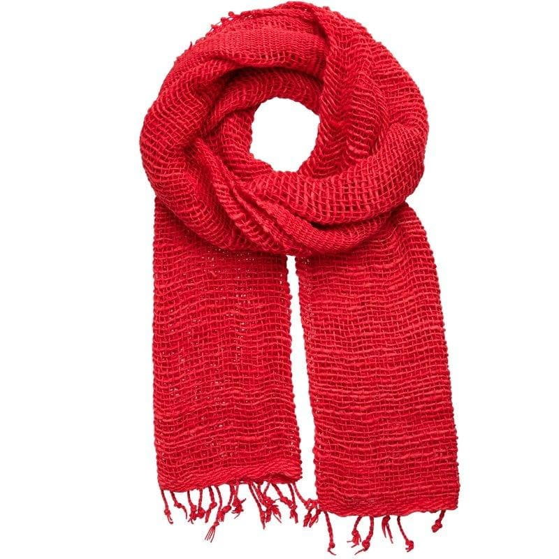 Free Weave - Handwoven Cotton Scarves in Bold Colors - Marquet Fair Trade