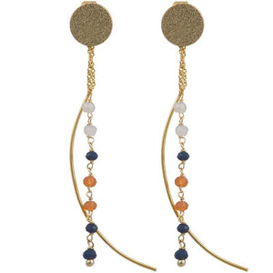 Load image into Gallery viewer, Nicki - Dangle Earrings - Marquet Fair Trade