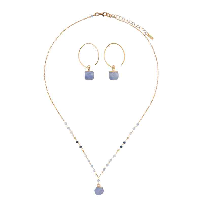 Load image into Gallery viewer, Nicki Necklace and Clara Earring Set - Marquet Fair Trade