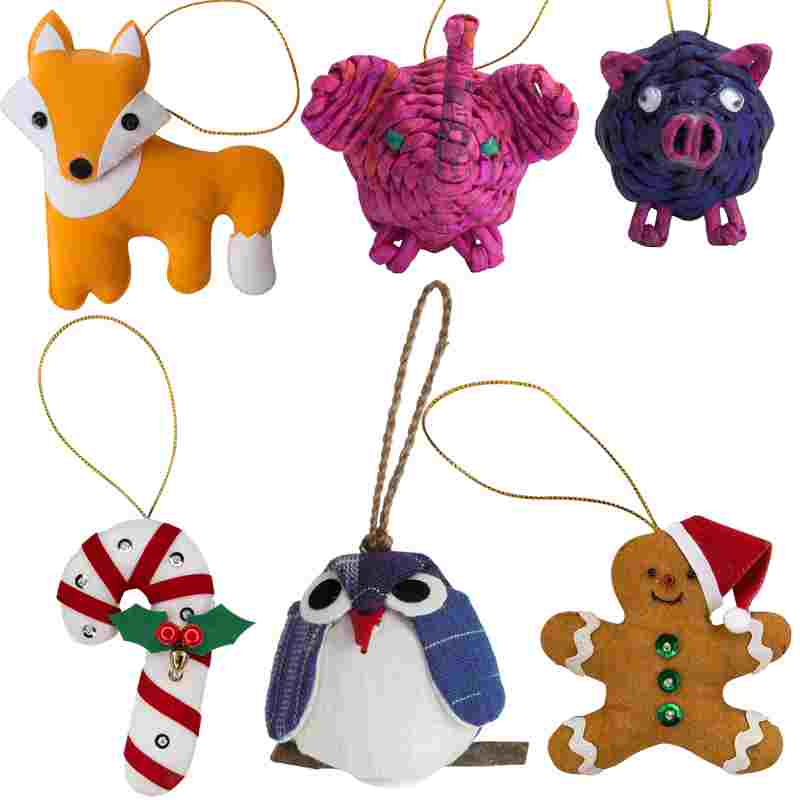 Our Most Popular Ornaments Set - Marquet Fair Trade