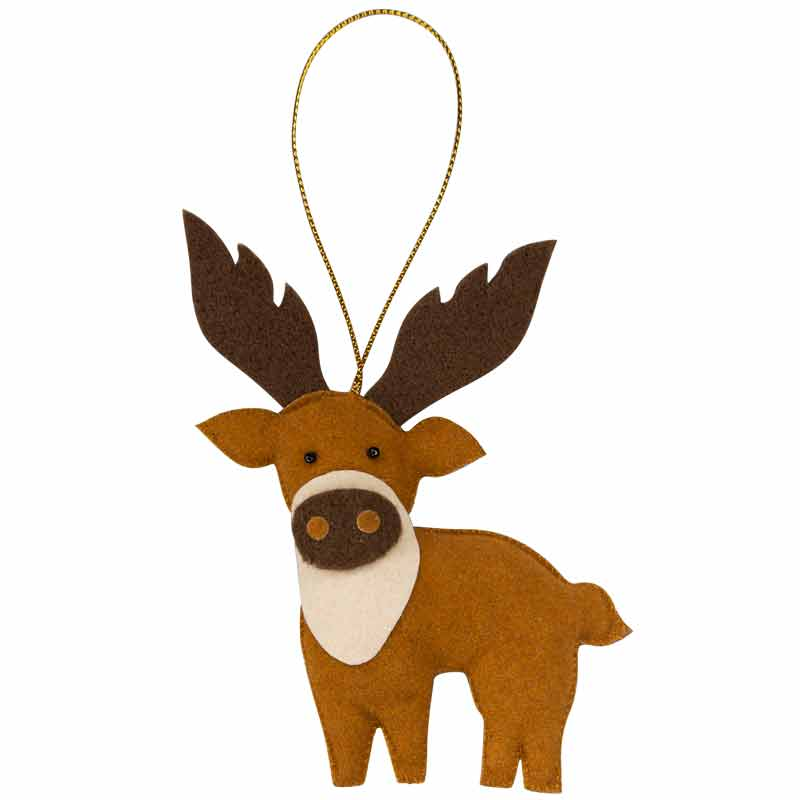 Reindeer Ornament - Marquet Fair Trade