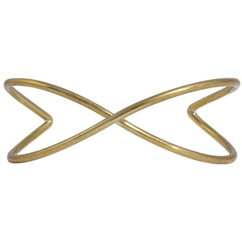 Sanoon - Brass Bangle Cuff - Marquet Fair Trade