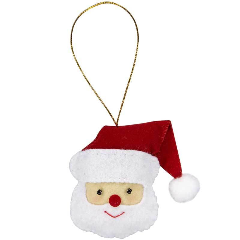 Santa Ornament - Marquet Fair Trade
