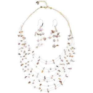 Load image into Gallery viewer, Sarah Necklace and Earring Set - Marquet Fair Trade