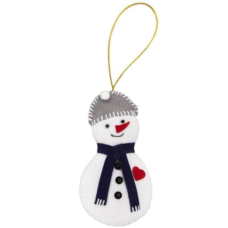 Snowman Ornament - Marquet Fair Trade