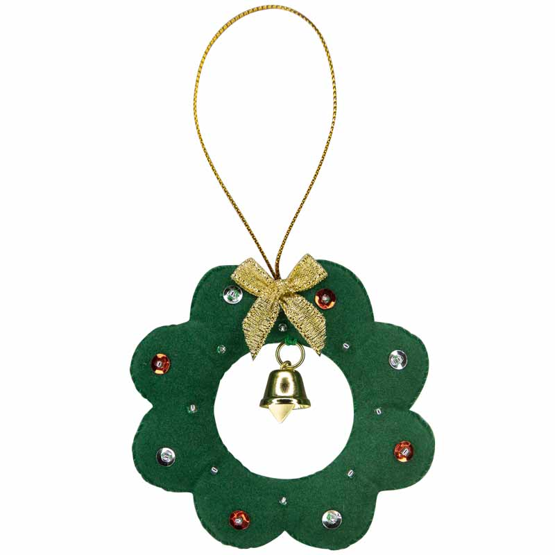 Wreath Ornament - Marquet Fair Trade