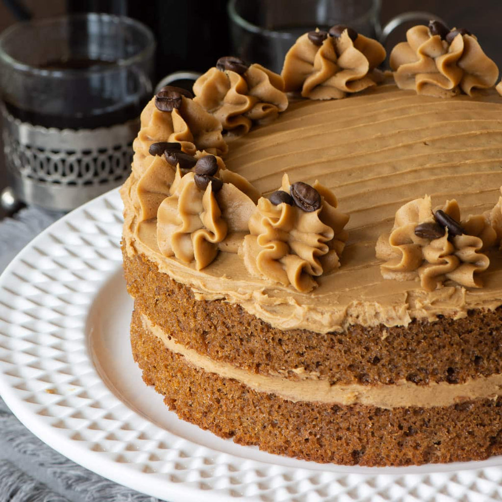Coffee cake recipe from Charlotte's Lively Kitchen