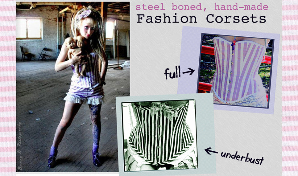Corsets (Made to Order)