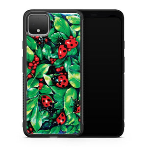Ladybugs In The Hedge Google Pixel 4 Case Cover