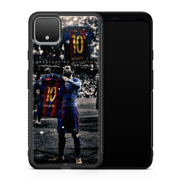 La Pulga Lionel Messi 500Th Goal Google Pixel 4 Case Cover