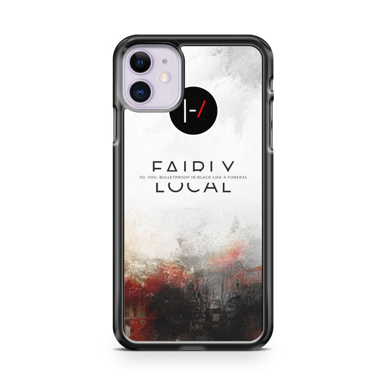 21 Twenty One Pilots Fairly iPhone 11 Case Cover | Overkill Inc.