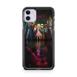 A Stranger Things Anime Is Not The Worst Idea iPhone 11 Case Cover | Overkill Inc.