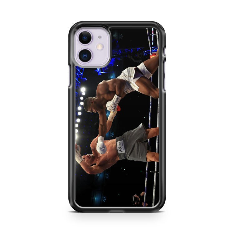Anthony Joshua Boxing Klitschko iPhone 11 Case Cover | Overkill Inc.